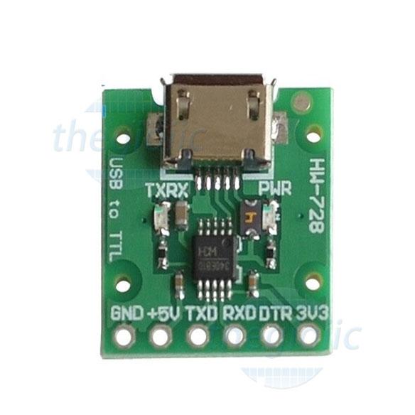 CH340E Mạch Chuyển Đổi USB To UART, RS232, RS485