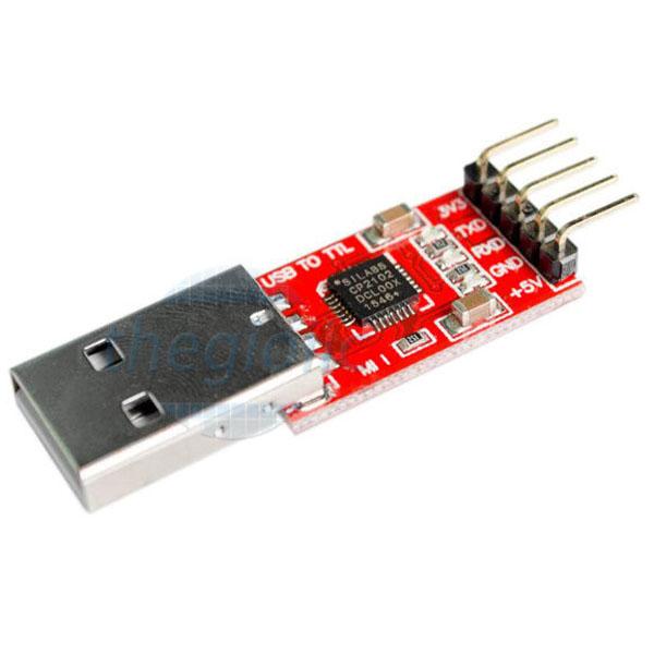 CP2102 Mạch Chuyển Đổi USB To TTL UART