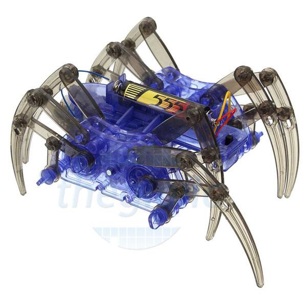 Robot Nhện STEM Tự Ráp