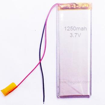 Pin Sạc Lipo 1250mAh 3.7V