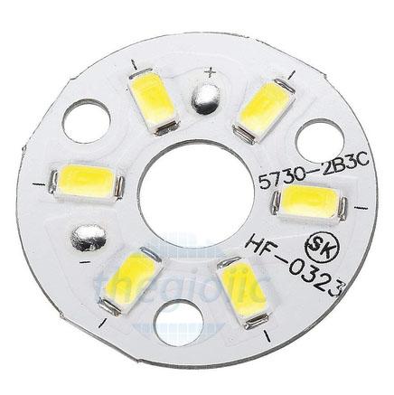 Tấm LED Trắng Ấm 3W 6LED 5730 32MM