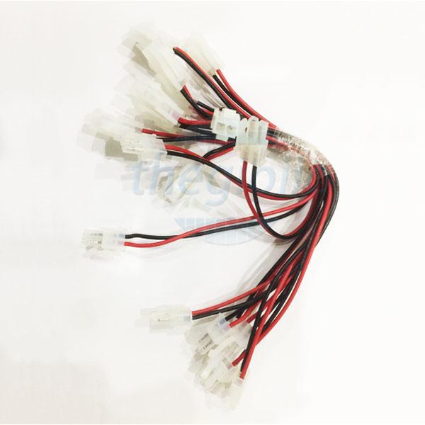 Dây 5557 2Pin 2 Đầu Đực-Cái 4.2mm Dài 10CM