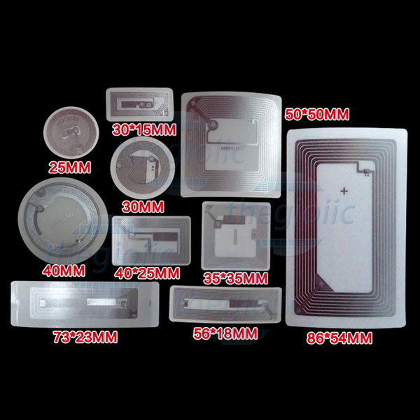 Nhãn NFC IC RFID Tag 40mm 13.56Mhz