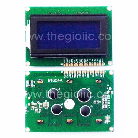 LCD 1604 Nền Xanh Dương Chữ Trắng 5V