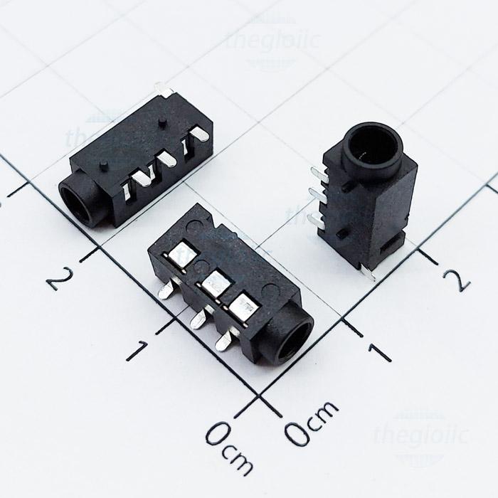 PJ-320D Cổng Audio 3.5 3 Cực 4Pin SMD