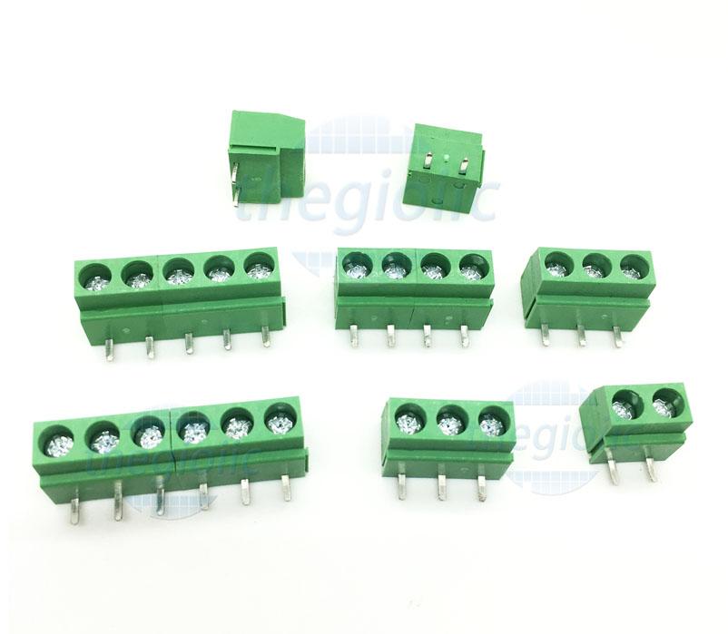KF126R-3P Domino 3P Chân Cong 5.08MM