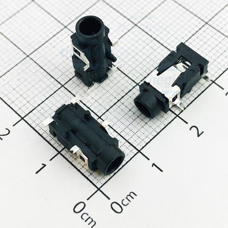 PJ-321A Cổng Audio 3.5 3 Cực 4Pin SMD