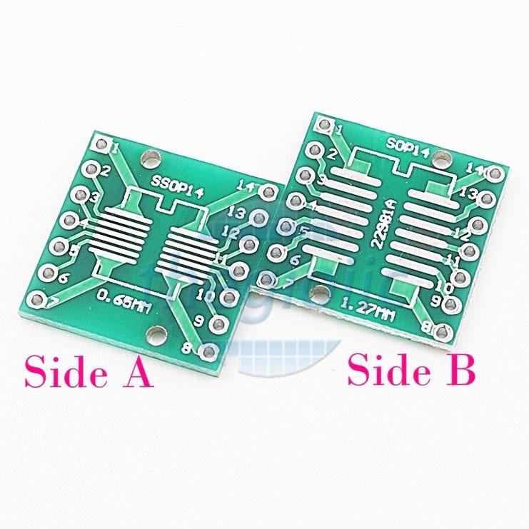 SSOP14-DIP14 PCB Converter