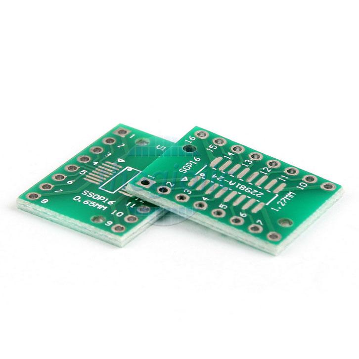 SSOP16-DIP16 PCB Converter