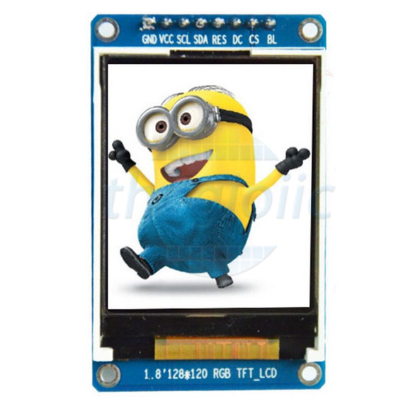 LCD 1.8inch ST7735S Giao Tiếp SPI