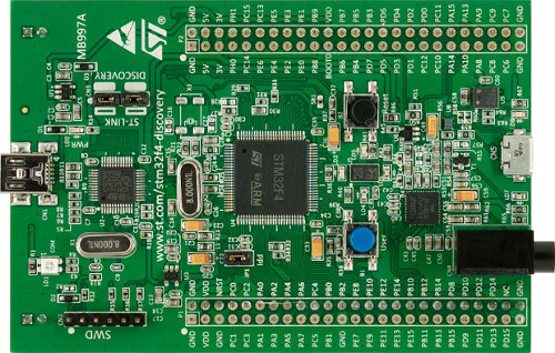 STM32F4-Discovery Cortex-M4 Kit