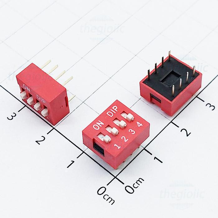 Công Tắc 4Bit Gạt Top Dip Switch