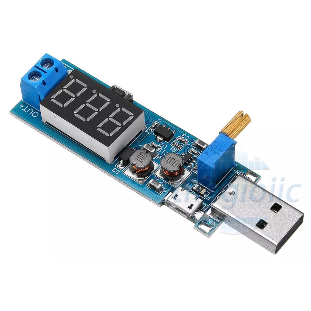 Mạch Tăng Giảm Áp USB MicroUSB