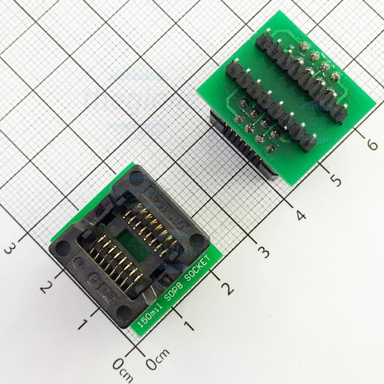 Socket Đổi Chân IC SOP16-DIP16