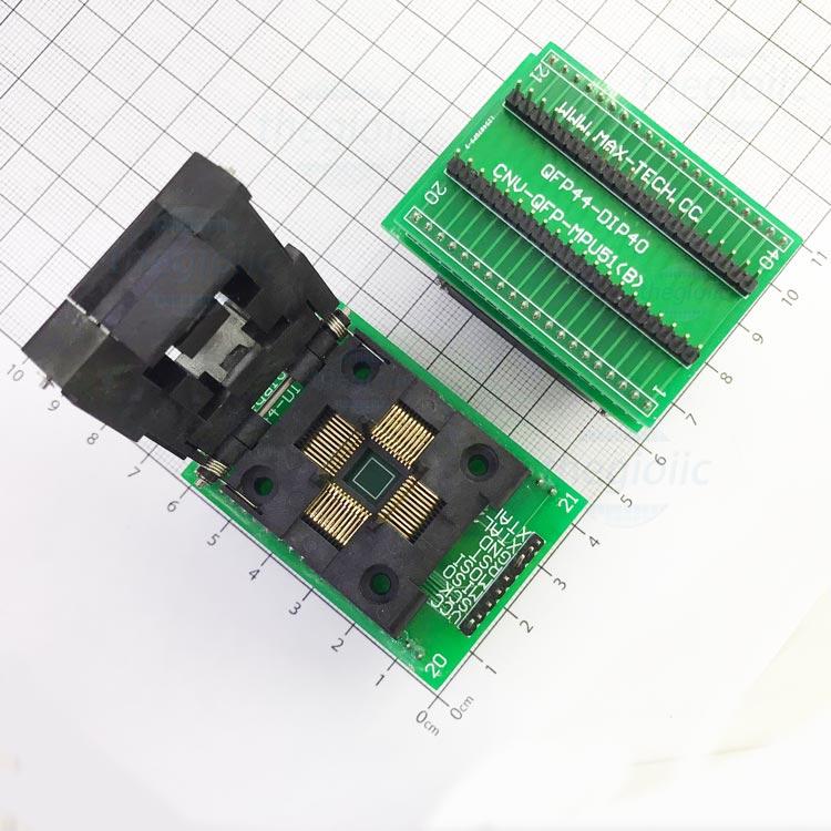 Socket Đổi Chân IC QFP44-DIP40