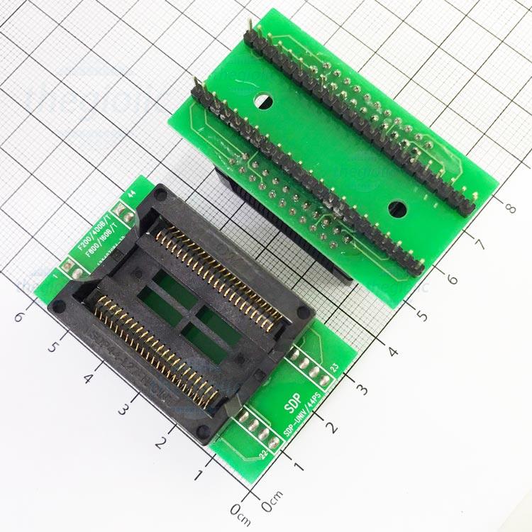 Socket Đổi Chân IC SOP44-DIP44