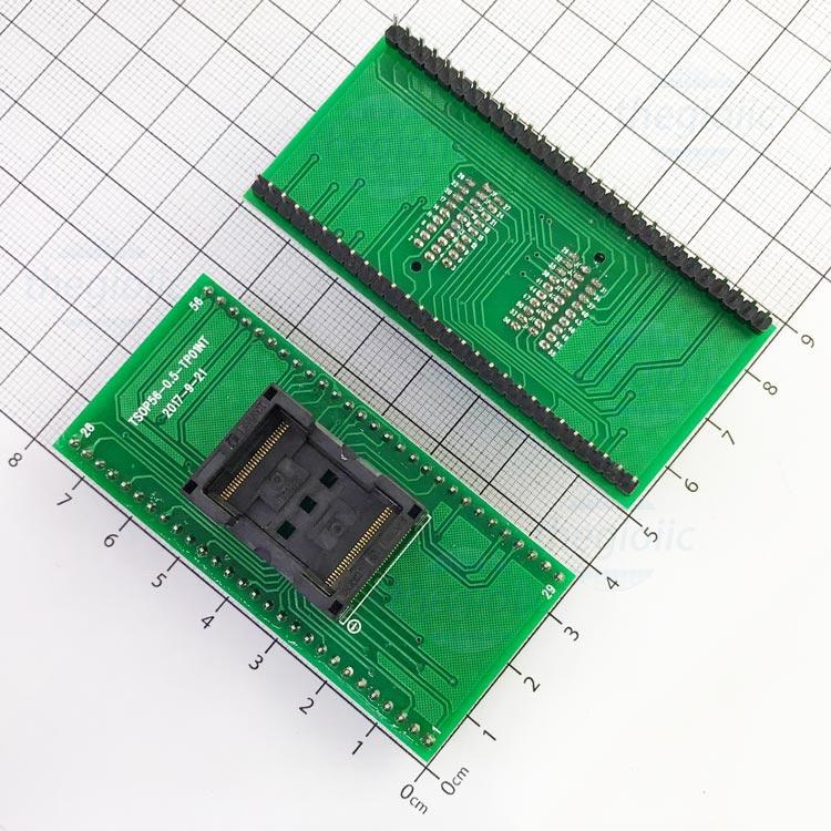 Socket Đổi Chân IC TSOP56-DIP56