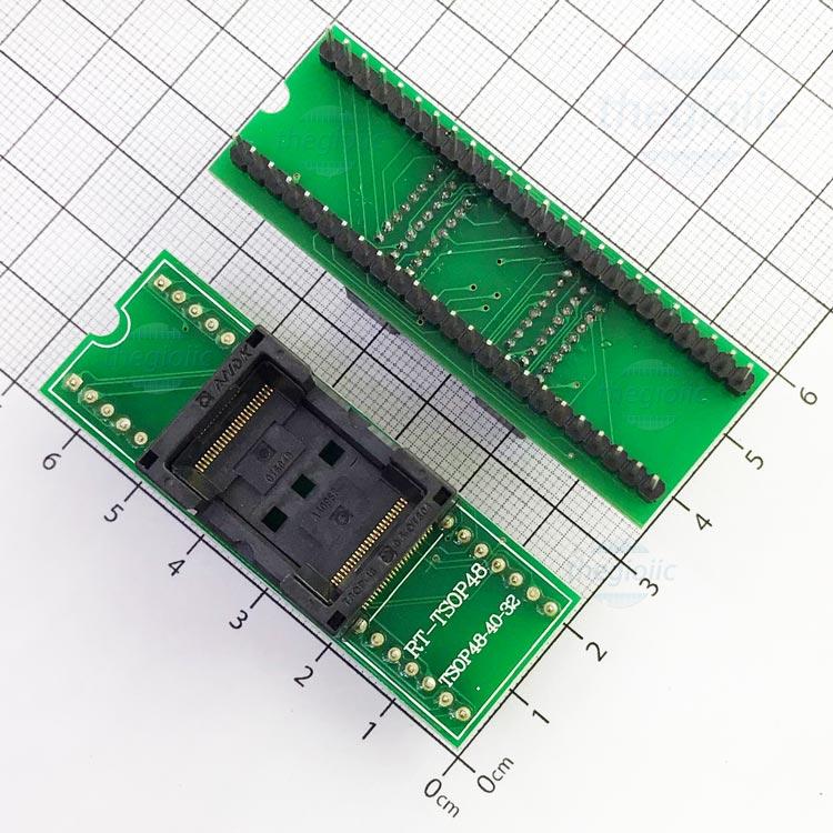 Socket Đổi Chân IC TSOP48-DIP48 V2