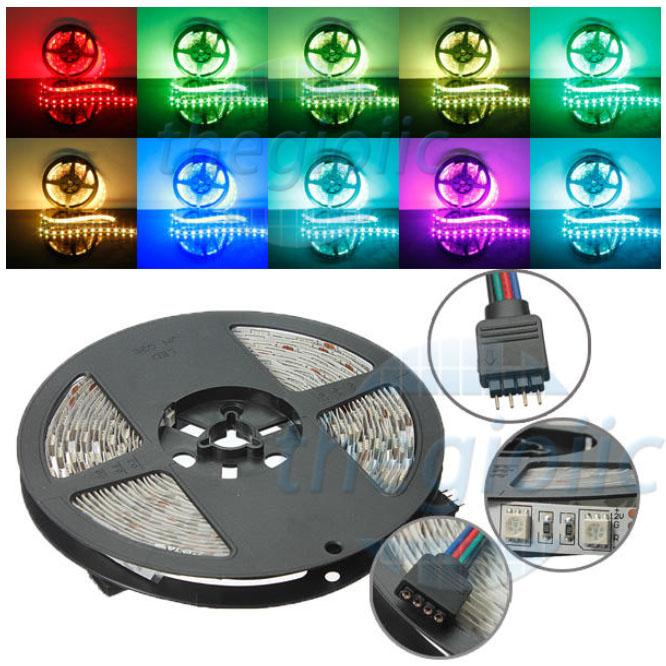 LED Dây 5050 RGB Loại Dán Dài 5M
