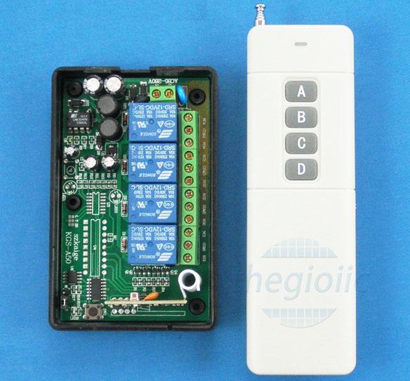 Remote Điều Khiển 4 Relay 220V 4000M