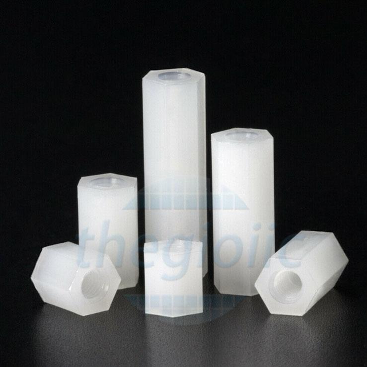 Trụ Nhựa HEX-M3 Cái-Cái Dài 5mm