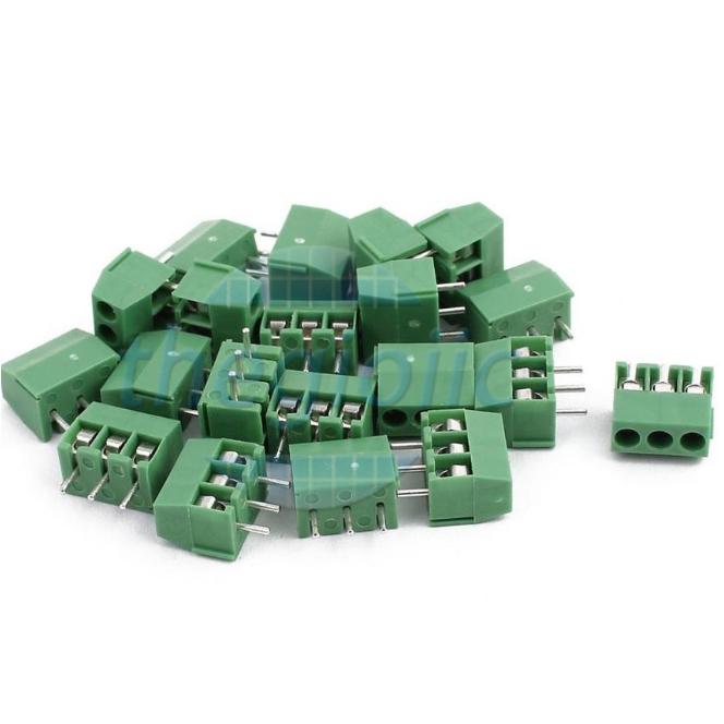 3P-ZB350V Domino 3 Chân Thẳng 3.5mm Hàn PCB