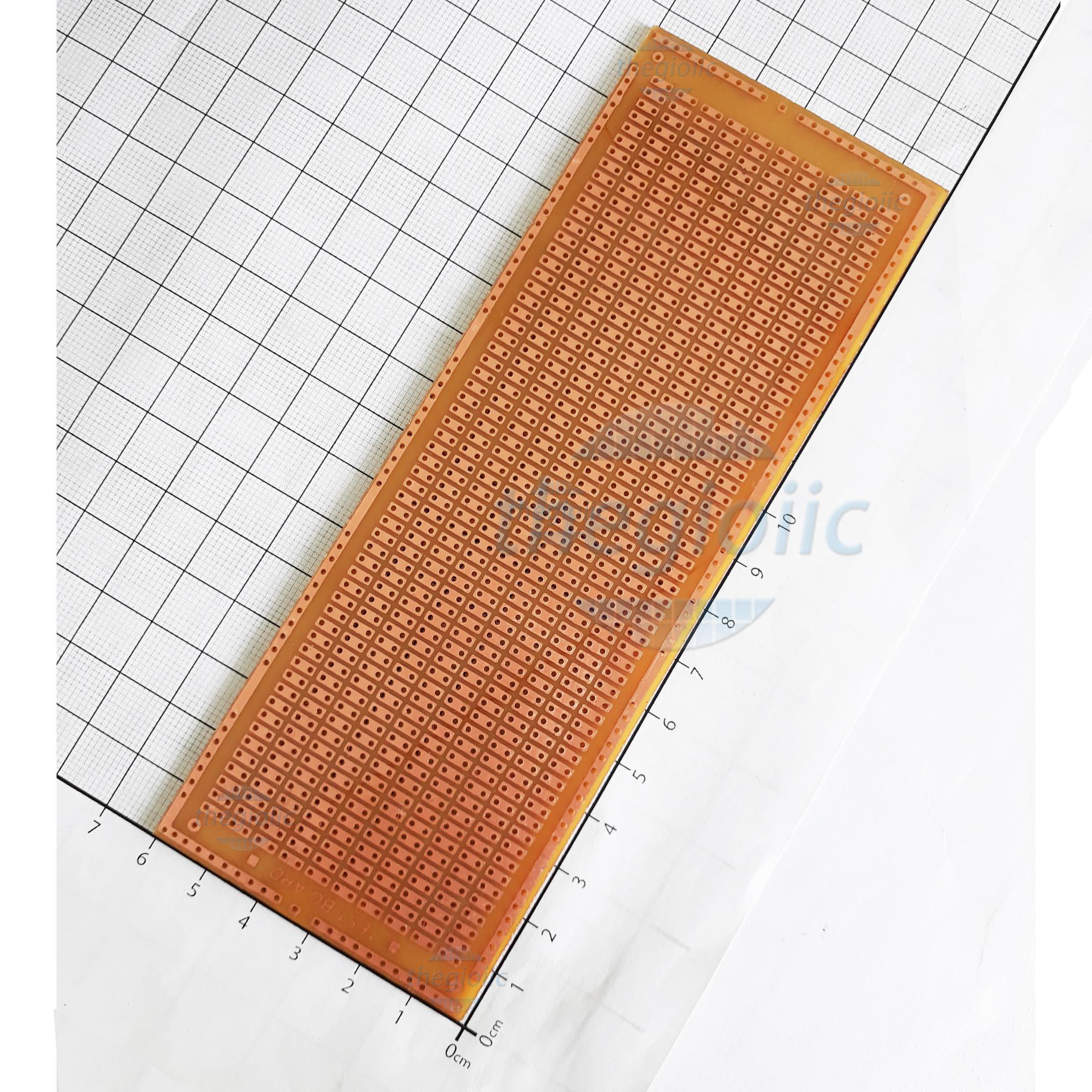 PCB Hàn Test Board Lỗ Đôi 16x6cm