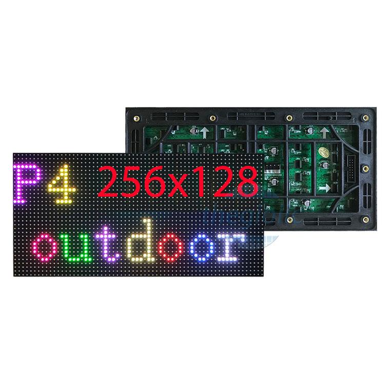 LED Ma Trận P4 Full Color Ngoài Trời 256x128
