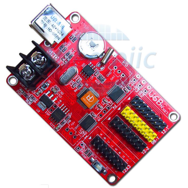 HD-U6BN Card Điều Khiển LED Ma Trận Đơn
