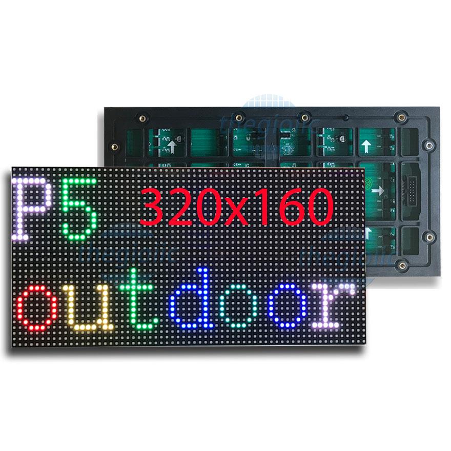 LED Ma Trận P5 Full Color Ngoài Trời 320x160