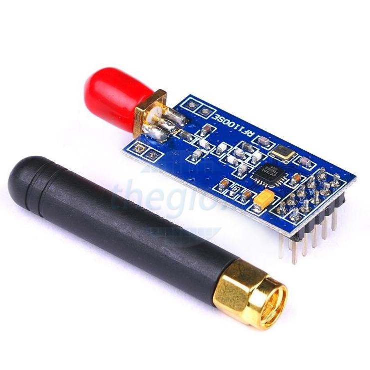 CC1101 Mạch Thu Phát RF Có Ăng Ten 433Mhz 200m