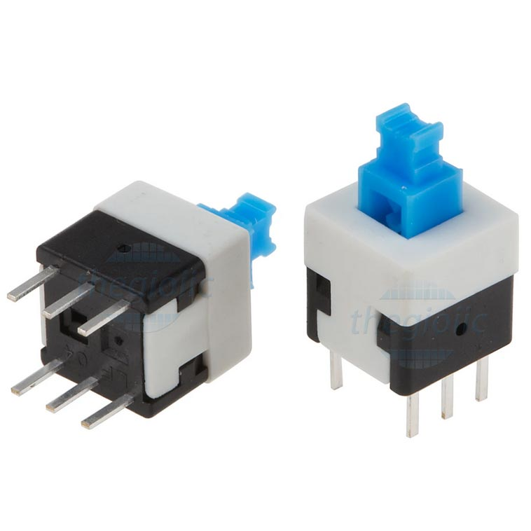 Push Switch 8x8 Latching