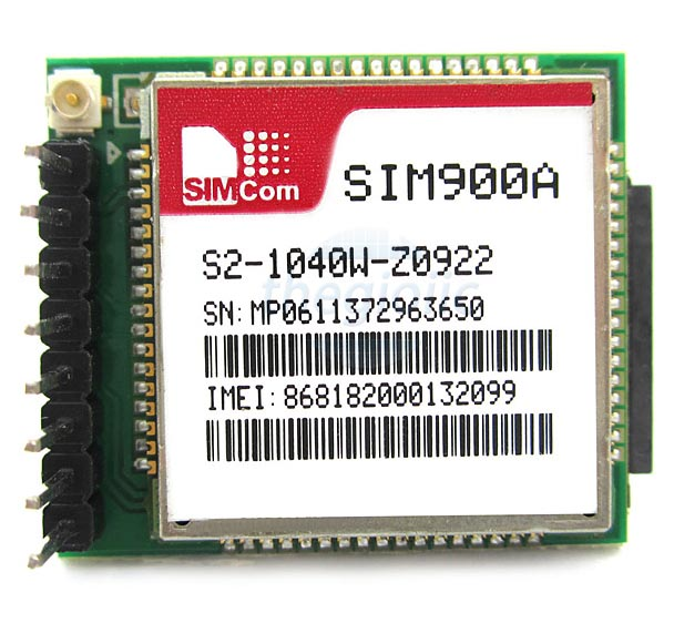 SIM900A GSM GPRS Đã Ra Chân
