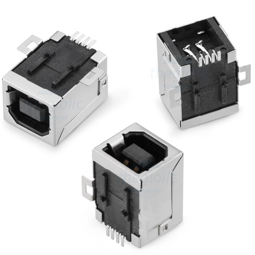 BF90 Cổng USB TypeB Đầu Cái 4Pin SMD