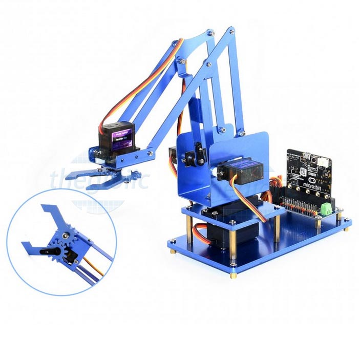 Bộ Cánh Tay Robot 4-DOF For MicroBit