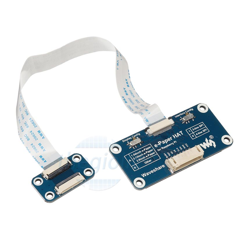 Universal e-Paper Raw Panel Driver HAT Inteface SPI