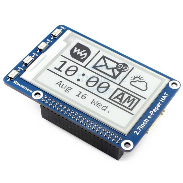 Module LCD 2.7inch 264x176 E-Ink Đen Trắng