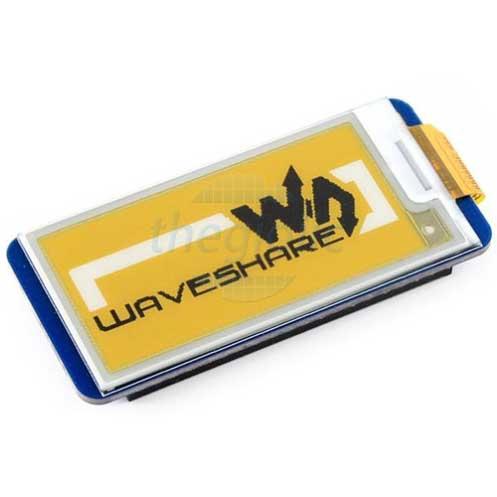 LCD 2.13inch 212x104 E-Ink Vàng Đen Trắng
