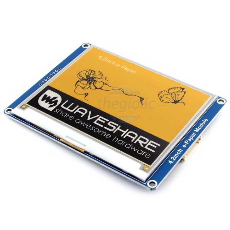 Module LCD 4.2inch E-Ink Vàng Đen Trắng