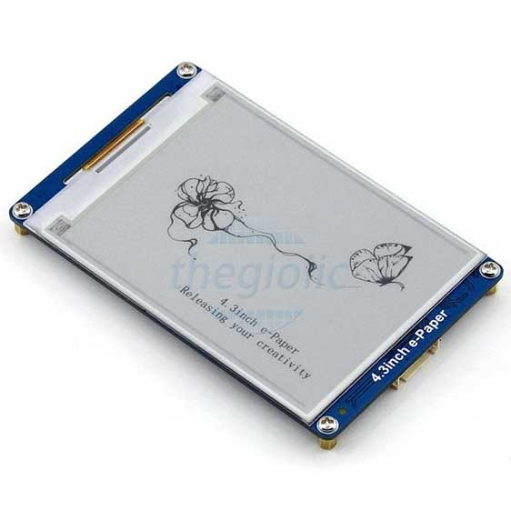 Module LCD 4.3inch E-Ink Đen Trắng