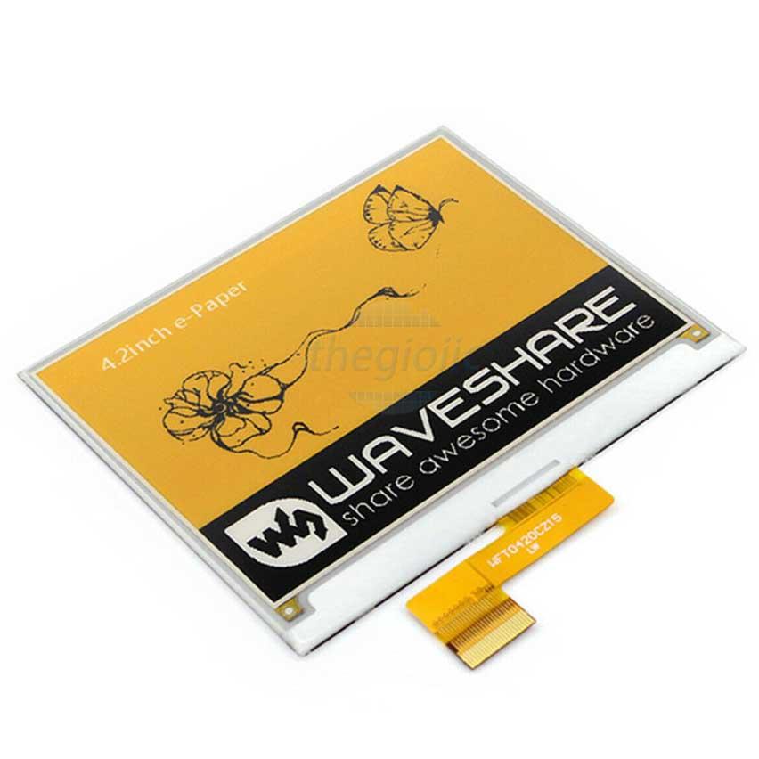 LCD 4.2inch E-Ink Vàng Đen Trắng