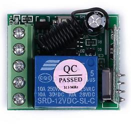 Mạch Thu RF 1 Relay 12VDC 10A 315Mhz