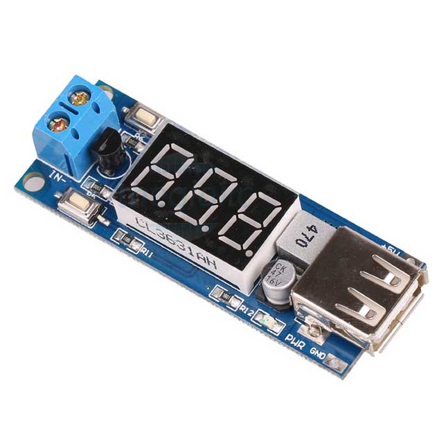 Mạch Giảm Áp USB 5V2A Cổng USB