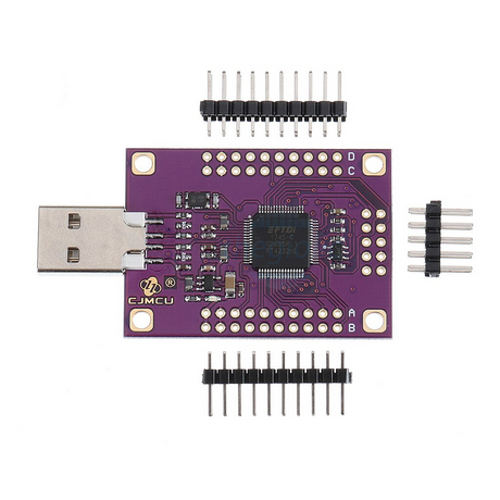 FT4232HL Mạch Chuyển Đổi USB To TTL UART RS232 RS422 RS485