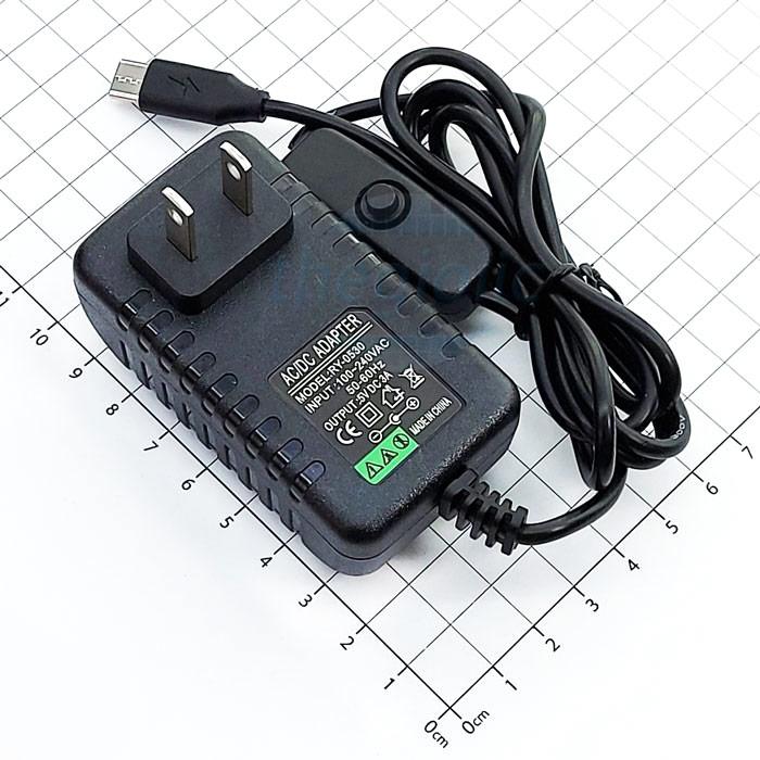Nguồn Adapter 5V3A Đầu USB Type-C Cho Raspberry Pi 4/4B