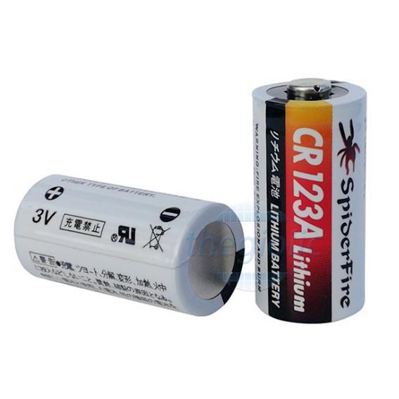 Pin Lithium CR123A 3V 1500mAh