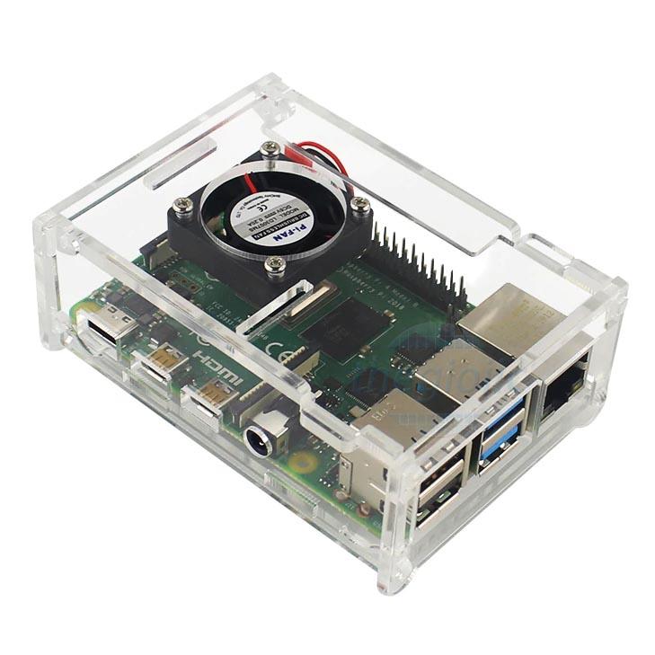 Hộp Raspberry Pi4 Có Quạt