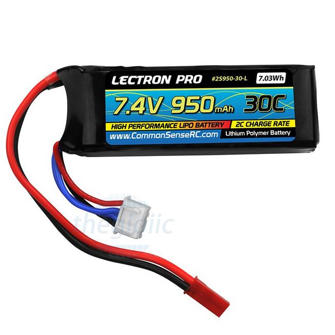 Pin Sạc Lipo 950mAh 7.4V 30C Dùng Cho RC
