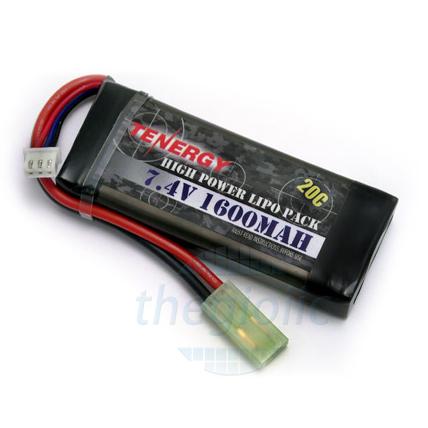 Pin Sạc Lipo 1600mAh 7.4V 20C Dùng Cho RC