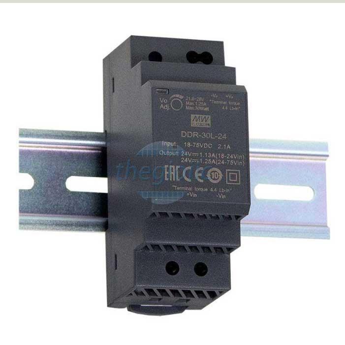 DDR-30G-12 Nguồn Meanwell Gắn Ray 12V 2.5A
